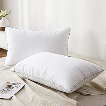 2-Pack Coozii Goose Down Alternative Pillows