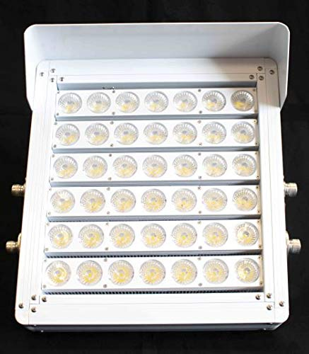 (Flex 400 -,Stadium Fishing Light, Commercial Saltwater Ready Light, Narrow Beam LED Spot/Flood Light,100-277 VAC 3.8AMPS at 400 Watts, Hazardous Area, Commercial Fishing Piers and Docks)