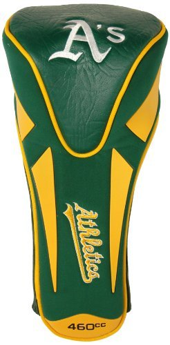 Green Golf Headcover Single - MLB Oakland Athletics Single Apex Driver Head Cover