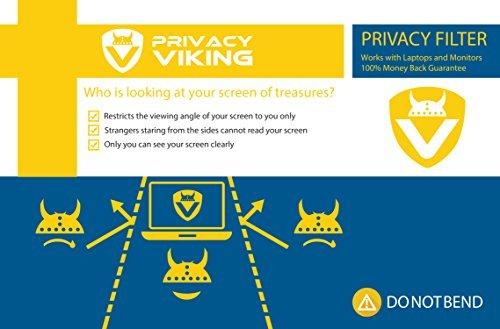 PrivacyViking Privacy Filter Privacy Screen for monitors and laptops (19.0)