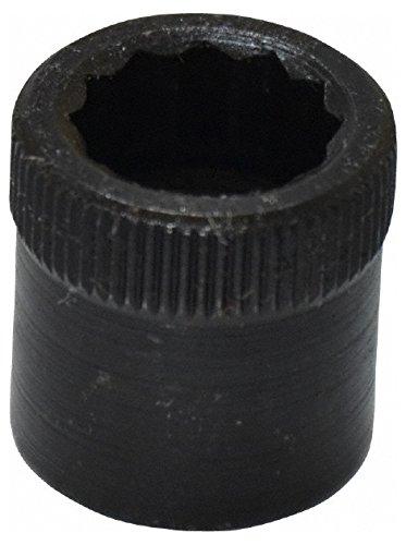 3/8-24'' Thread Uncoated Steel Allen Nut 3/8'' Diam, 3/8'' Hex Key