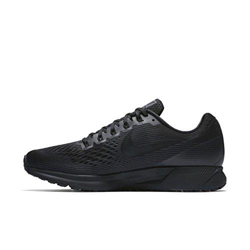 Nike Men's Air Zoom Pegasus 34 Black/Dark Grey/Anthracite Running Shoe 10.5 Men US