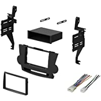 2008 2009 2010 2011 2012 Toyota Highlander Dash Kit Single Din Stereo Install With Wire Harness