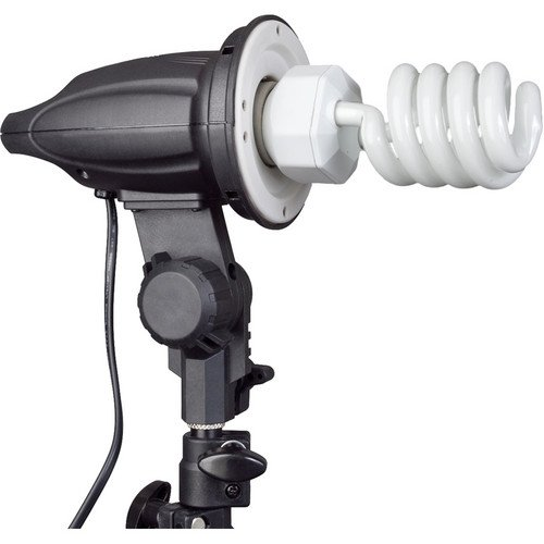 Impact Single Socket Fluorescent Fixture