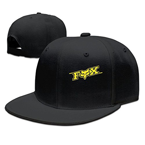 Evelyn C. Connor Fox-Logo Flat Bill Trucker Hats - Fox Racing Hat Print
