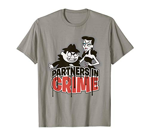 Rocky And Bullwinkle Boris Natasha Partners Graphic T-Shirt]()