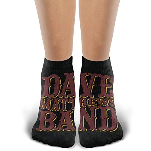 (TYDJL Dave Matthews Band Sports Outdoor Casual Cotton Stitching Soft and Comfortable Socks for Men and Women)