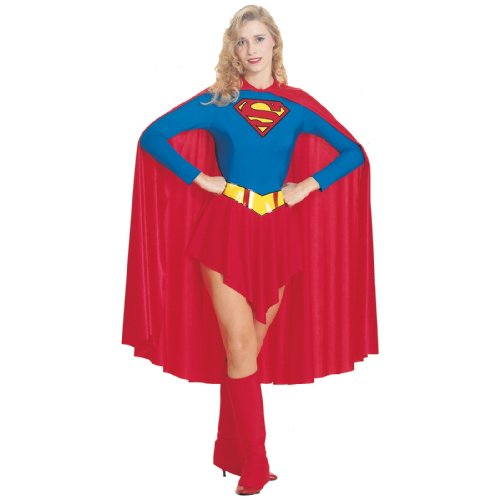 (Supergirl Adult Costume -)