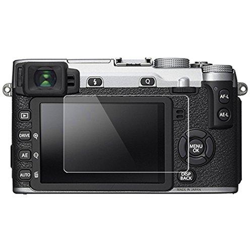 Fujifilm XE2 Screen Protector, BolinUS 0.3mm LCD Optical 9H Hard Tempered 2 Pack Anti-scratch Glass Screen Protector Skin Film for Fujifilm Fuji X-E2S/XE2 Camera