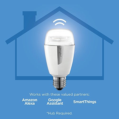 Sengled Element Plus Smart LED Light Bulb (Hub Required), A19 Dimmable LED Light Tunable White 2700-6500K 60W Equivalent, Works with Alexa/Echo Plus/SmartThings/Google Assistant, 1 Pack by Sengled (Image #1)