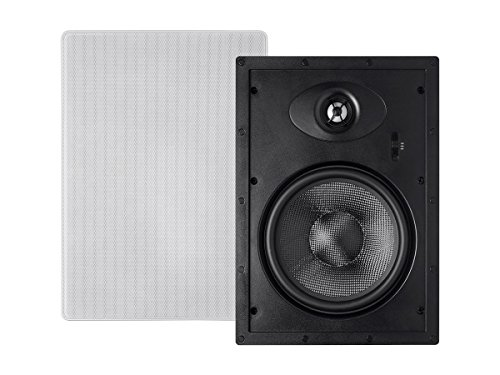 Alpha In Wall Speakers 8 Inch Carbon Fiber 2-way