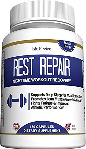 Glutamine BCAA Capsules | Post Workout Recovery | Muscle Building and Sleep Supplement, A Blend of L-Glutamine and Amino Acids, All Natural Pills for Men and Women (150 Capsules, 30 Day Supply) (Post Workout Pills)