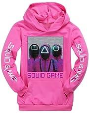Moschin Squid Game Sweatshirt Kids Hoodie Boy Girl Clothes