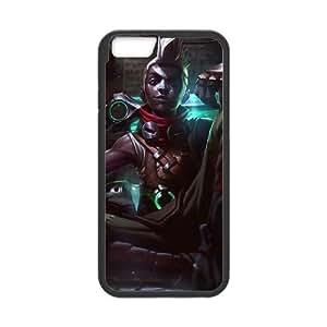 iPhone 6 Plus 5.5 Inch Cell Phone Case Black League of Legends Ekko Gqwna