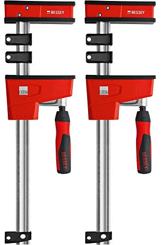 "BESSEY KRE3512 PAIR 12"" K Body REVO Parallel Bar Clamp Now With Hex Key Clamping"