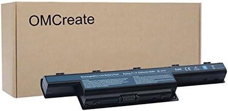 Marca nueva portátil batería para Acer Aspire 4253 4551 4552 4738 4741 4750 4771 5251 5253 5336 5349 5551 5552 5560 5733 5733Z 5741 5742 5750 5750 G 5755 ...