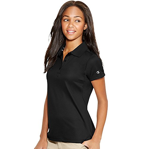 Champion Double Dry Ultimate Polo_Black_X-Large