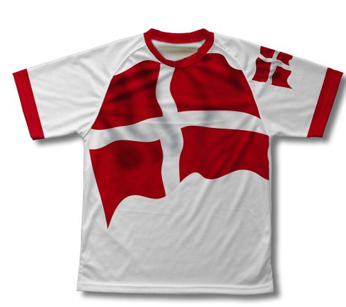 Sovereign Military Order Of Malta Flag Technical T-Shirt for Men and Women - Size 2XL (Tee Sovereign)