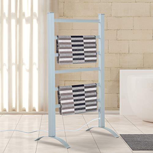 HomCom 6-Bar Freestanding Electric Towel Warmer