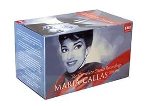 MARIA CALLAS: COMPLETE EMI STUDIO RECORDINGS 1949- 1967 (PLUS FONIT CETRA) - 22 COMPLETE OPERAS & 14 STUDIO RECITALS- NORMA, I PURITANI, LA SONNAMBULA, CARMEN, MEDEA, LUCIA DI LAMMERMOOR, PAGLIACCI, CAVALLERIA RUSTICANA, LA GIOCONDA, LA BOHEME, MADAMA BUTTERFLY, MANON LESCAUT, TOSCA, TURANDOT, IL BARBIERE DI SIVIGLIA, IL TURCO IN ITALIA, AIDA, UN BALLO IN MASCHERA, LA FORZA DEL DESTINO, LA TRAVIATA , RIGOLETTO, IL TROVATORE & PUCCINI ARIAS, LYRIC COLORATURA ARIAS, CALLAS AT LA SCALA, MAD SCENES, VERDI ARIAS, CALLAS A PARIS, ROSSINI DONIZETTI ARIAS, MOZRT BEETHOVEN WEBER ARIAS, BELLINI WAGNER ARIAS, THE EMI RARITIES- 69 CD & 1 CD-ROM CONTAINING THE COMPLETE LIBRETTO , TEXTS & TRANSLATIONS - EMI