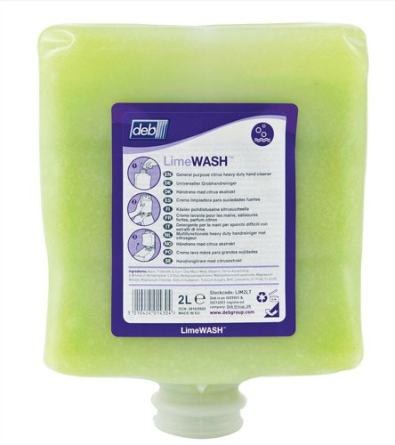 Deb BND088-1 Rose Foam Hand Wash Cleanser, 1 L (Pack of 6)