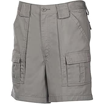 Weekender® 6 Pocket Trader Shorts LIGHT GREY 32W