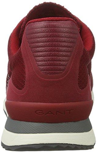 Gant Russell - Zapatillas Hombre Rot (mahagony red)