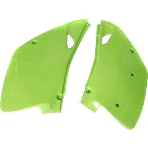 Ufo Side Panels - UFO Plastics Side Panels - Kaw Green , Color: Green KA02745-021
