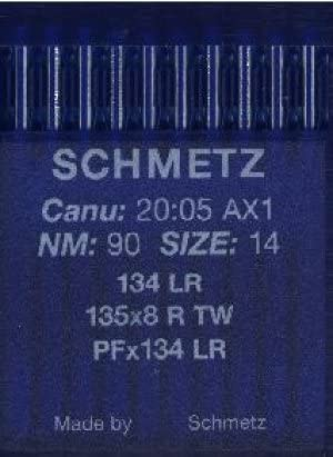 5 unidades Schmetz cuero agujas//Grosor tejer 100
