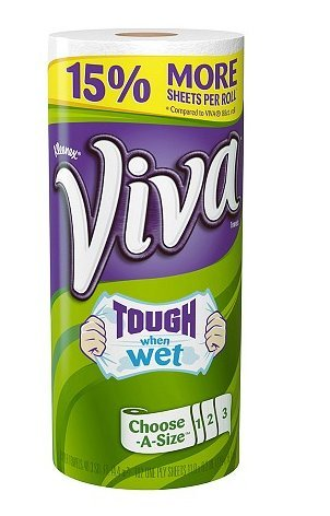 Viva Choose A Size Towels 1 Roll 102.0 sh Pack of 5