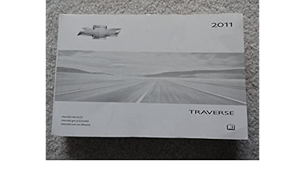 chevy traverse owners manual 2011