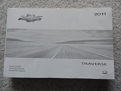 2011 Chevrolet Traverse Owners Manual