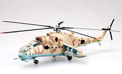 Easy Model Russian Mi-24 03 White Operated by The Joint Air Group at Kalinovskaya Airfield March 2000 1/72 Non diecast ()