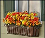 48'' Venetian Decora Window Box with Bronze Galvanized Liner