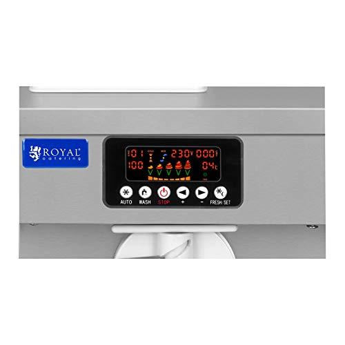 Royal Catering Máquina De Helados Soft De 5 Litros RCSI-18-1 (Capacidad Total De 5 Litros, Motor De 1100 Watt, Producción: 18 L/h): Amazon.es: Bricolaje y ...