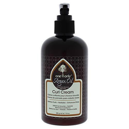 one n only Argan Oil Curl Cream Derived from Moroccan Argan Tress, 10 Ounce
