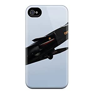 CADike Snap On Hard Case Cover The Russian Aircraft Su-47 Protector For Iphone 4/4s