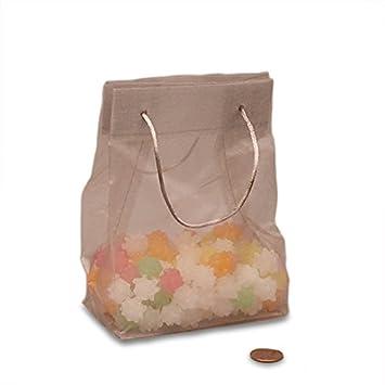 Amazon.com: Tela de plata Mini bolsas de la compra ...