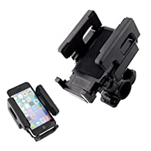 Tera Universal Motocycle MTB Bike Bicycle Handlebar Cradle Holder Mount for Cell Phone iPhone 5s 5c 4s 4 Samsung Galaxy S5 S4 HTC GPS