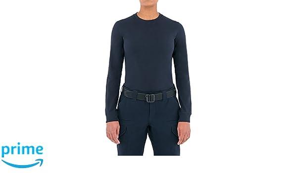 c0b1e9d09ff953 Amazon.com : First Tactical Women's Tactix Series Cotton Long Sleeve T-Shirt,  Midnight Navy, Large : Sports & Outdoors