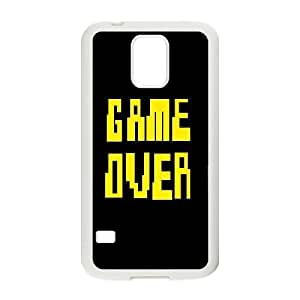 kimcase Custom Game Over Case Cover for Samsung Galaxy S5 I9600