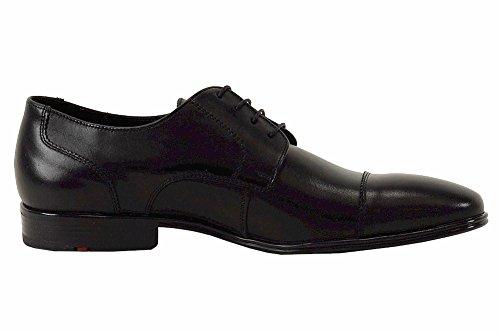 Lloyd Mens Business Series Hakon Scarpe Oxfords Moda In Pelle Nera