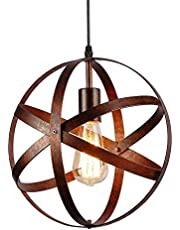 Hanglamp industriële kroonluchter hanglamp lampenkap met E27 fitting keuken bar eettafel woonkamer slaapkamer loft gang open haard trap kroonluchter