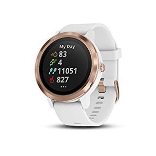 Garmin vívoactive 3, GPS Smartwatch with Contactless Payments and Built-in Sports Apps, White/Rose Gold (B07D191SPD) | Amazon price tracker / tracking, Amazon price history charts, Amazon price watches, Amazon price drop alerts