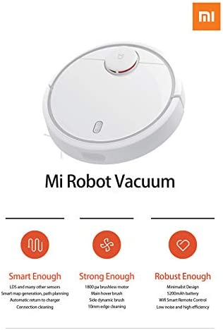 Xiaomi 17061Vacuum Cleaner Robot Aspirateur, blanc - Home Robots