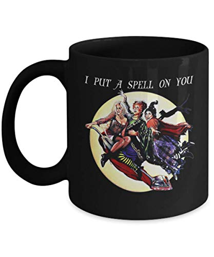 I Put A Spell On You Mug, Hocus Pocus Halloween Mug, hocus pocus billy bones butcherson halloween saints Mug, samhain, salem spooky creepy, Gift Dad f -