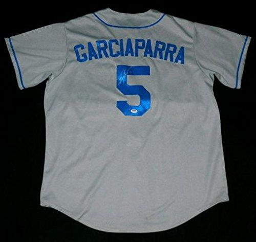 Nomar Garciaparra Autographed Jersey (dodgers) W/Proof - ! - PSA/DNA Certified - Autographed MLB Jerseys