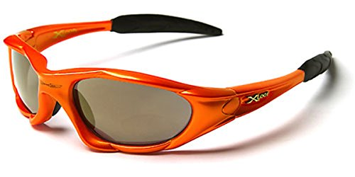 X-Loop Wrap Around Men's Sport Cycling Baseball Running - Orange Cheap Sunglasses