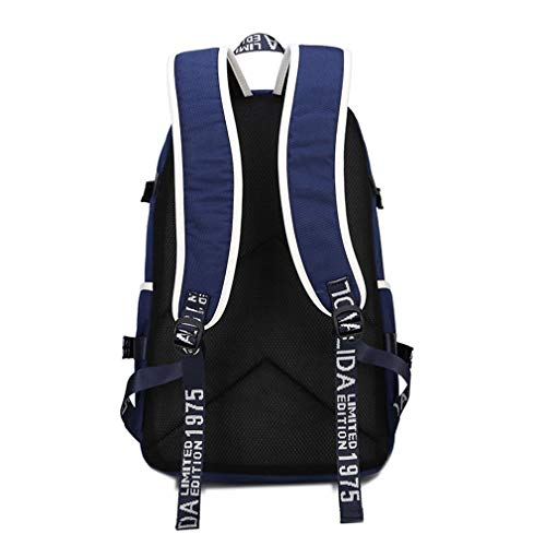 ALLDECOR Retro MiddleSchool Satchel Unisex Oxford Travel Multifunction Backpack by ALLDECOR (Image #3)