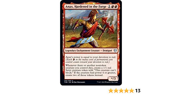 Hardened in the ForgeTheros Beyond DeathMTG Magic Cards Details about  /4x Anax